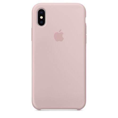 Apple iPhone X szilikontok – rózsakvarc