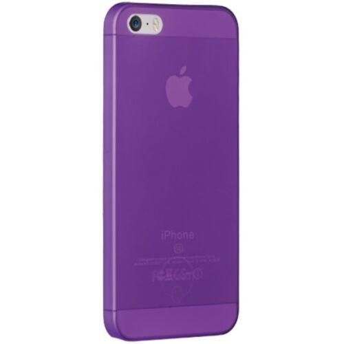 Ozaki OC533PU 0.3Jelly iPhone 5/5s/SE tok, lila