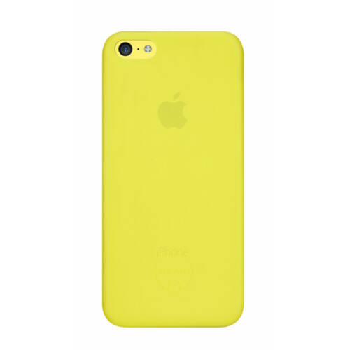 Ozaki OC546YL 0.3Jelly iPhone 5c tok, sárga