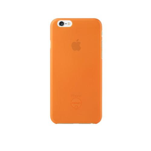 Ozaki OC555OG 0.3Jelly iPhone 6/6s tok, narancssárga