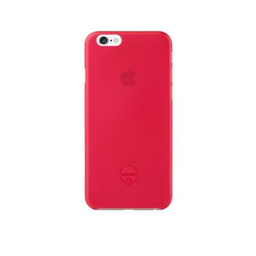 Ozaki OC555RD 0.3Jelly iPhone 6/6s tok, rózsaszín