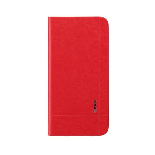 Ozaki OC582RD iPhone 6Plus/6s Plus bőr flip tok, piros
