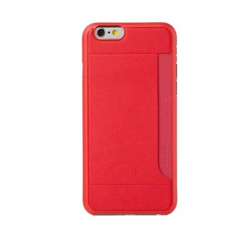 Ozaki OC597RD Pocket iPhone 6 Plus/6s Plus tok, piros
