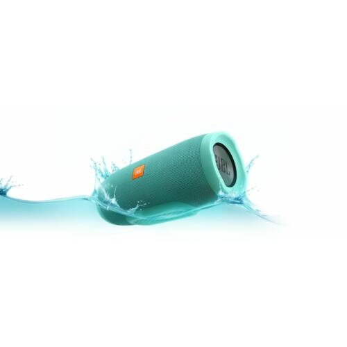 JBL Charge 3 vízálló, Bluetooth hangszóró türkiz