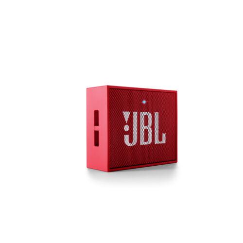 JBL GO piros, hordozható bluetooth hangszóró